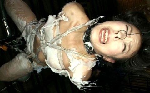 《SM スカトロ浣腸》激カワなエロボディー美女が麻縄で緊縛拘束されてハードSM責めしてまんぐり返しで浣腸液大量注入!!!