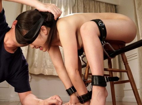 《SM×アクメ》激カワ黒髪美女が緊縛拘束された状態でおもちゃ責めや乳首責めをされて性奴隷化!イク時は膣内に中出しされちゃう