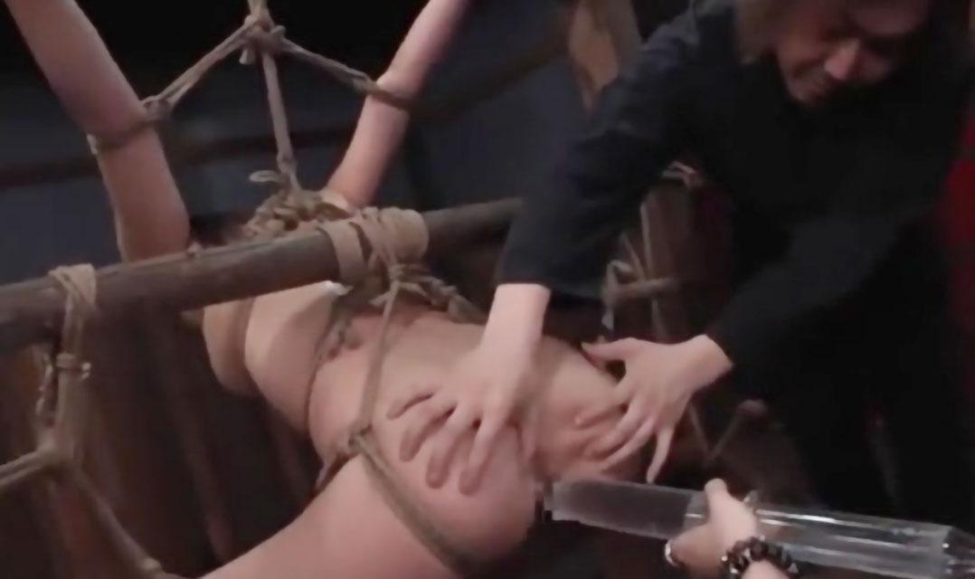 《麻縄緊縛拘束》超かわいい美少女が拘束され浣腸液を大量に注入!ウンコ汁出したくてたまらない激やばSMハード責め《フェチ》